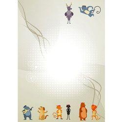 tablica suchościeralna 128 zwierzęta