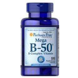 Puritan's Pride Witamina B-50 Complex 100 kaps., produkt z kategorii- Witaminy i minerały