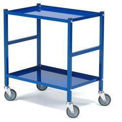 Wózek transportowy, 2 półki, 150 kg, 690x430x750 mm
