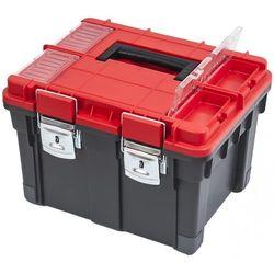 Patrol walizka na narzędzia hd compact logic, czerwony