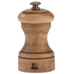Peugeot Młynek do soli z drewna bukowego 100 mm, naturalny postarzany | , antique