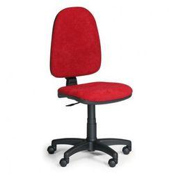 B2b partner Biurowe krzesło torino bez podłokietników - czerwone