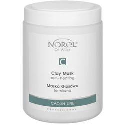 Norel (Dr Wilsz) CLAY MASK SELF-HEATING Termiczna maska gipsowa (PN243)