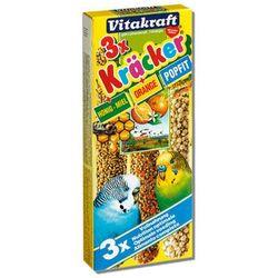 VITAKRAFT Kracker - kolba miód-pomarańcza-popfit dla papugi falistej 3szt.