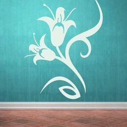 Kwiaty 978 szablon malarski marki Deco-strefa – dekoracje w dobrym stylu
