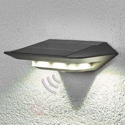 Lampa ścienna zewnętrzna zasilana solarnie ECO-Light P9014 SI, 6x0.4 W, LED wbudowany na stałe, 260 lm, 4100 K, IP44, P9014 SI