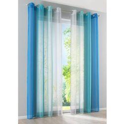 """Bonprix Firana """"cieniowane kolory"""" (2 szt.) niebieski"""