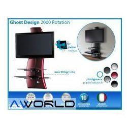 Półka pod tv z maskownicą ghost design 2000 z rotacją od producenta Meliconi