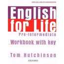 English for Life Pre-Intermediate: Workbook with key (9780194307635)