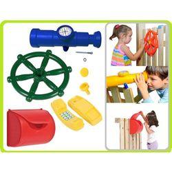Gigi toys zestaw 4w1 ster, teleskop z kompasem, telefon, skrzynka na listy
