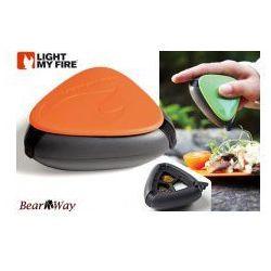 Light my fire Salt and pepper plus - turystyczny pojemnik na przyprawy - pomarańczowy