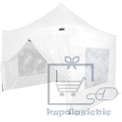 Stilista Namiot ogrodowy, party, automatyczny 3x3m +4 ściany - biały