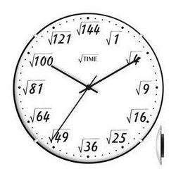 Zegar ścienny convex pod pierwiastkiem marki Atrix