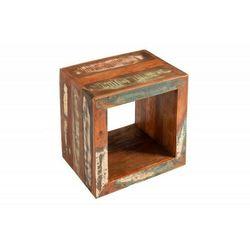 Invicta stolik jakarta 45 cm - drewno z recyklingu marki Sofa.pl