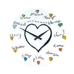 Zegar ścienny 8030 loving you śr. 43 cm marki Nextime