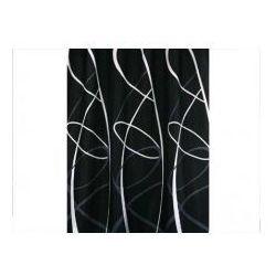 Zasłonka prysznicowa tekstylna 1,8x 2,0 m Zigzag