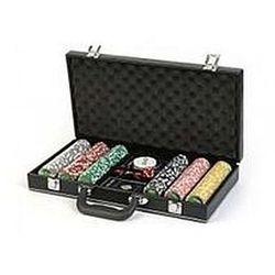 Poker Set w metalowej skrzyni 300 żetonów