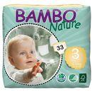 Abena - bambo nature - pieluchy jednorazowe - ekologiczne - zdrowe 3 midi 5-9 kg