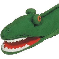 Pacynka na dłoń dla dzieci- Krokodyl - produkt dostępny w www.epinokio.pl