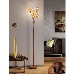 Lampa podłogowa Greta 398-48 Paul Neuhaus, kolor brąz