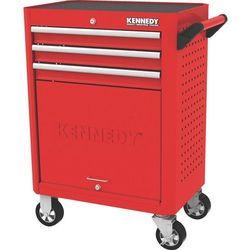 Kennedy Wózek warsztatowy z szufladami na kółkach 3-szufladowy 450kg ken5942020k