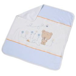 kocyk honey bear blue 75x100 (462-41), marki Easy baby