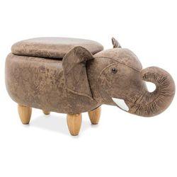 Słoń sebastian brązowy marki Signal