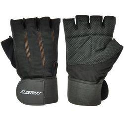 Axer sport Rękawice fitness  a1301 czarny (rozmiar m), kategoria: rękawice do walki
