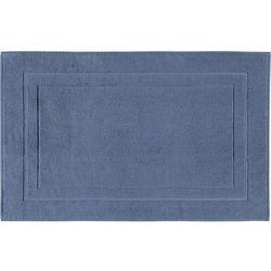 Dywanik łazienkowy classic 50 x 80 cm szaroniebieski marki Cawo