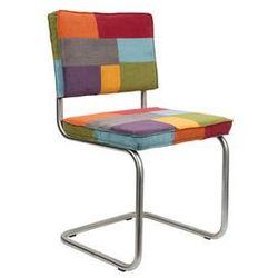 krzesło ridge brushed rib wielokolorowe 1100226 marki Zuiver