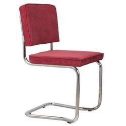 Zuiver  krzesło ridge kink rib czerwone 21a 1100056
