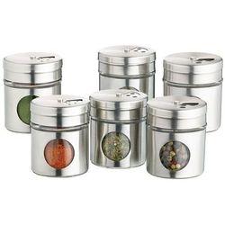Pojemniczki na przyprawy 6 sztuk - Kitchen Craft (5028250154354)