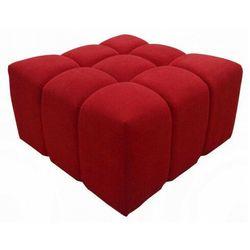 Kwadratowa pufa tapicerowana - Widers 4X 68 kolorów, Pufa Bubble 90x90x50