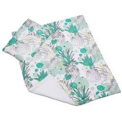 bambusowy komplet pościeli ananasy kołderka 75x90cm + poduszka 35x45cm marki Pulp