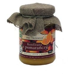 Konfitura z pomarańczy słodzona ksylitolem / gwarancja 24m / negocjuj cenę !, marki Pięć przemian