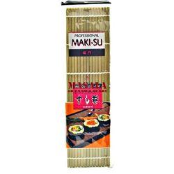 Mata bambusowa Maki-su do sushi 27x27cm, profesjonalna (8717703610345)