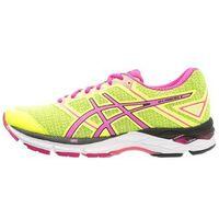 ASICS GELPHOENIX 8 Obuwie do biegania Stabilność safety yellow/pink glow/black