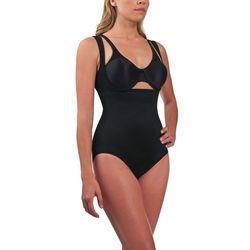 CUPID - DSC Comfort with control - Torsette Bodybriefer, body wyszczuplające pod biust z panelem ( beżowy XL ), kolor beżowy