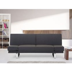 Sofa z funkcją spania ciemnoszara - kanapa rozkładana - wersalka - YORK - sprawdź w wybranym sklepie