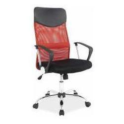Fotel q-025 czerwono-czarny - zadzwoń i złap rabat do -10%! telefon: 601-892-200 marki Signal meble