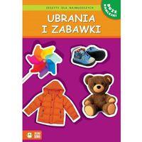 Zeszyty dla najmłodszych Ubrania i zabawki, Zielona Sowa