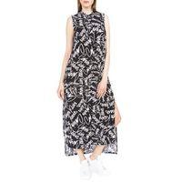 Calvin Klein New Decla Sukienka Czarny Biały L
