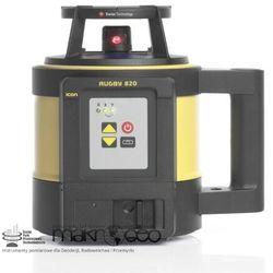 Niwelator laserowy  rugby 820 + rod-eye 180 od producenta Leica