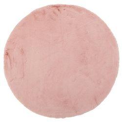 Dywan okrągły Bella 80 cm pudrowy róż (5907736272518)