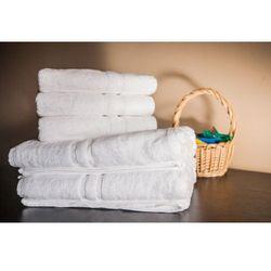Ręcznik Hotelowy LUX 500 gr/m2 50x100 cm Biały 100% Bawełny Egipskiej, A637-878D5