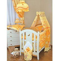 MAMO-TATO pościel 12-el Przyjaciele w pomarańczu do łóżeczka 70x140cm - tkanina