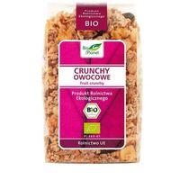 Bio Planet: crunchy owocowe BIO - 250 g (płatki, musli, otręby)