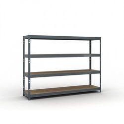 Regał półkowy 1800 x 2400 x 600 mm, nośność 450 kg marki B2b partner