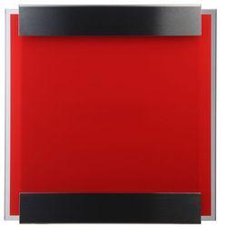 Skrzynka na listy glasnost glass czerwona marki Keilbach