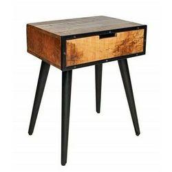 Industrialny stolik nocny z szufladą - Randall, 39652
